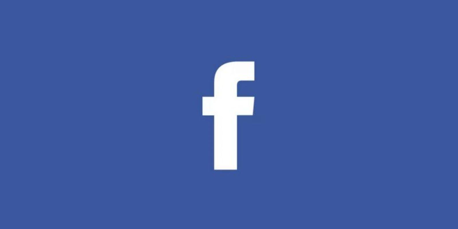 1- Facebook. Foto:Facebook
