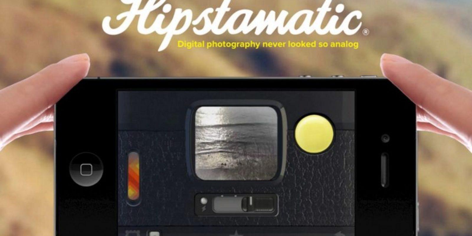 13- Hipstamatic. Foto:Hipstamatic