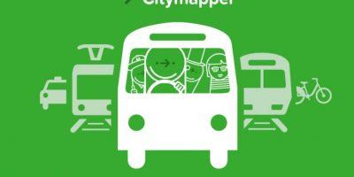 15- Citymapper. Foto:Citymapper