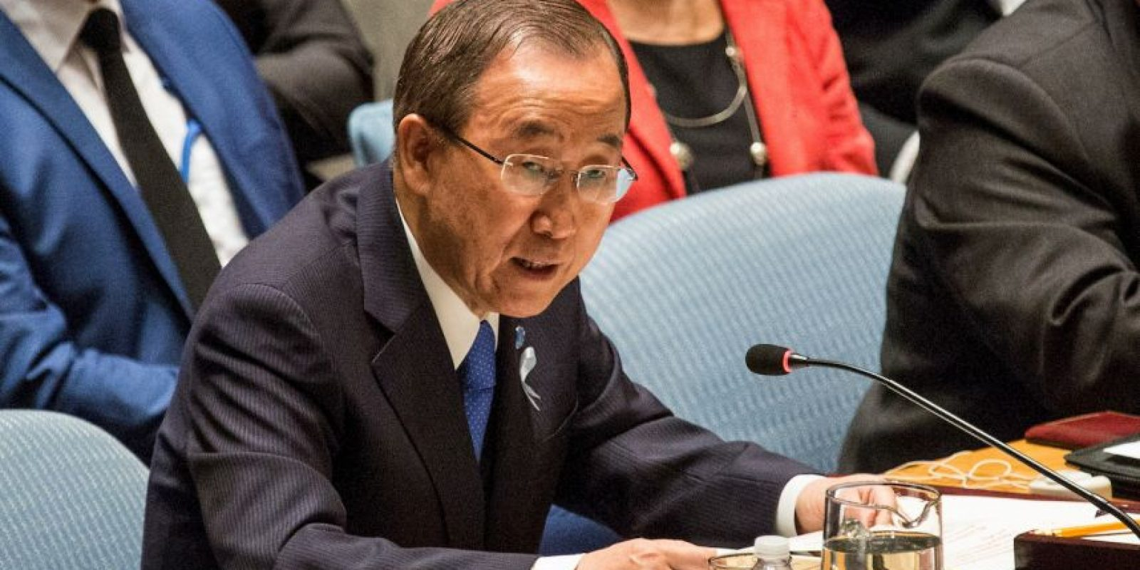 2. El actual Secretario General es Ban Ki-moon. Foto: Getty Images