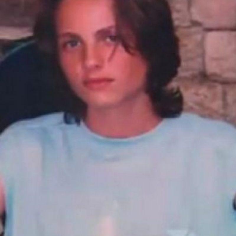 4. La modelo Andrej Pejic antes de su transformación Foto:Twitter
