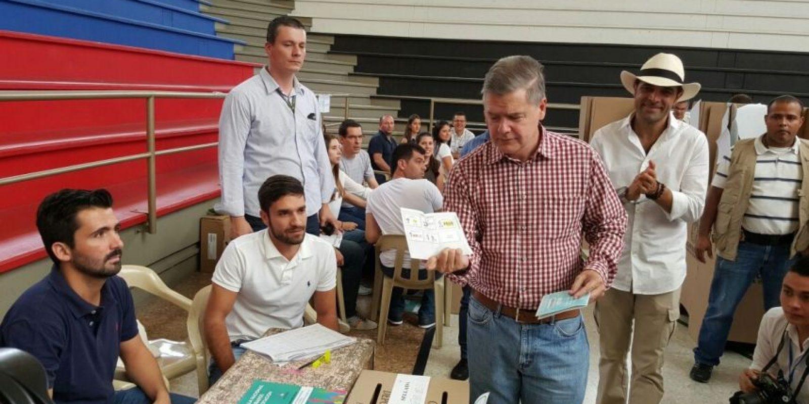 Juan Carlos Vélez, Centro Democrático Foto:Cortesía: Campaña Juan Carlos Vélez Uribe