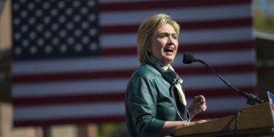 Hillary Clinton llevo su campaña al estado de Iowa, en Estados Unidos. Foto:AP