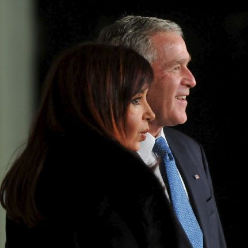 2008, en reunión en la Casa Blanca con el entonces presidente George W. Bush Foto: Getty Images