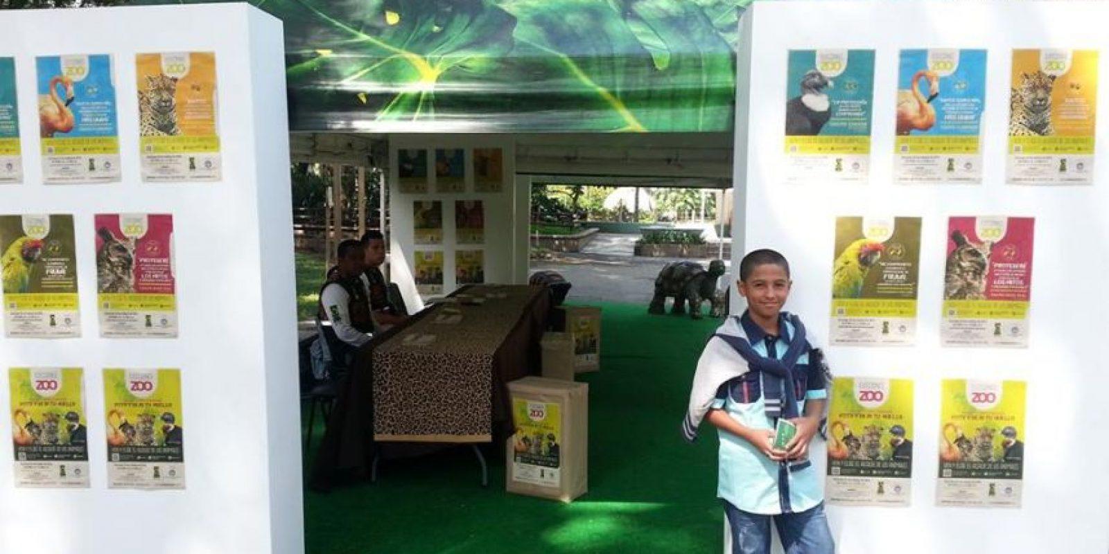 Primeros votantes en las elecciones del Zoológico Santa fe de Medellín. Foto:Tomada Facebook Zoológico Santa Fe Medellin