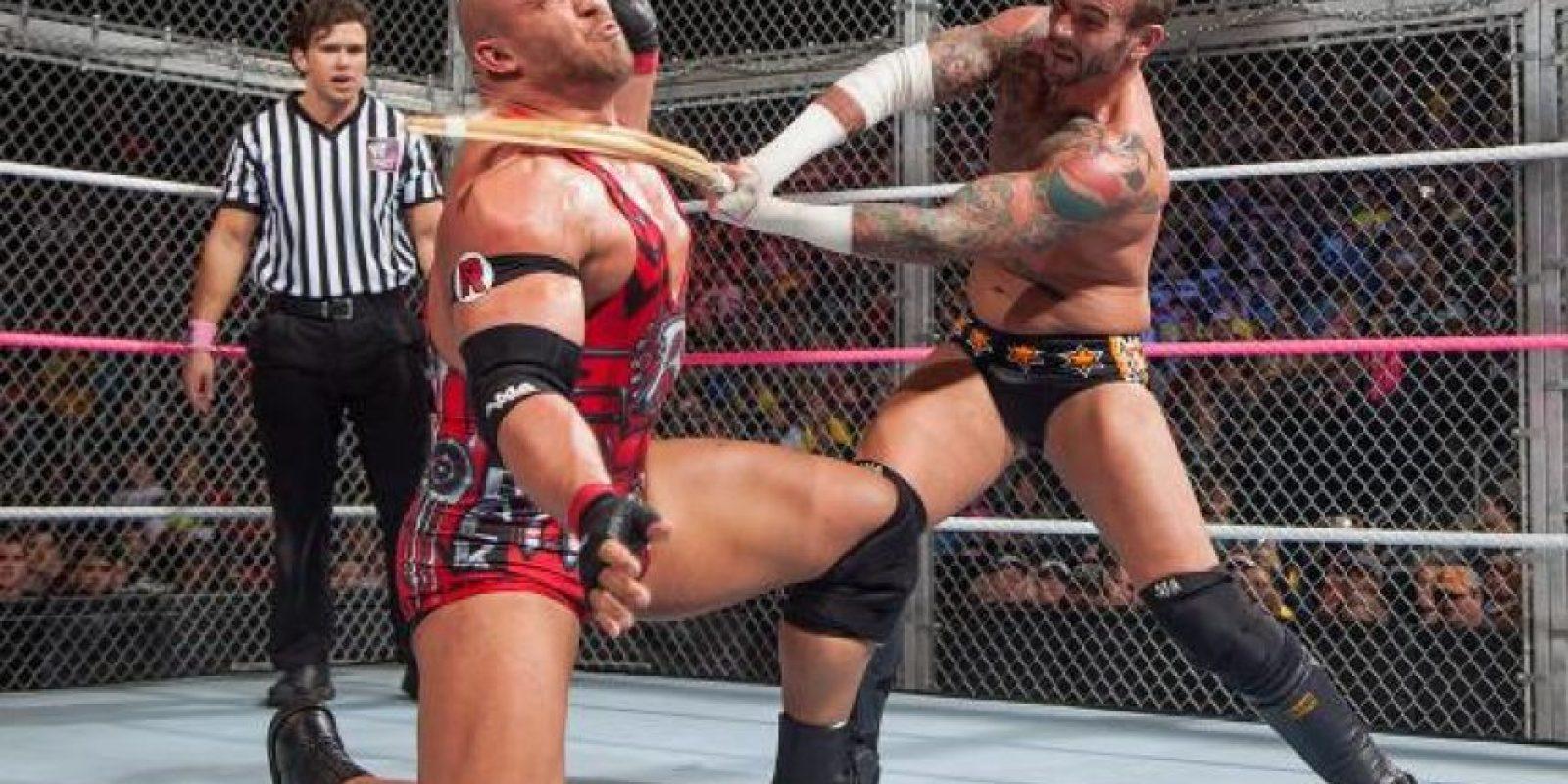 Ryback vs. CM Punk Foto:WWE