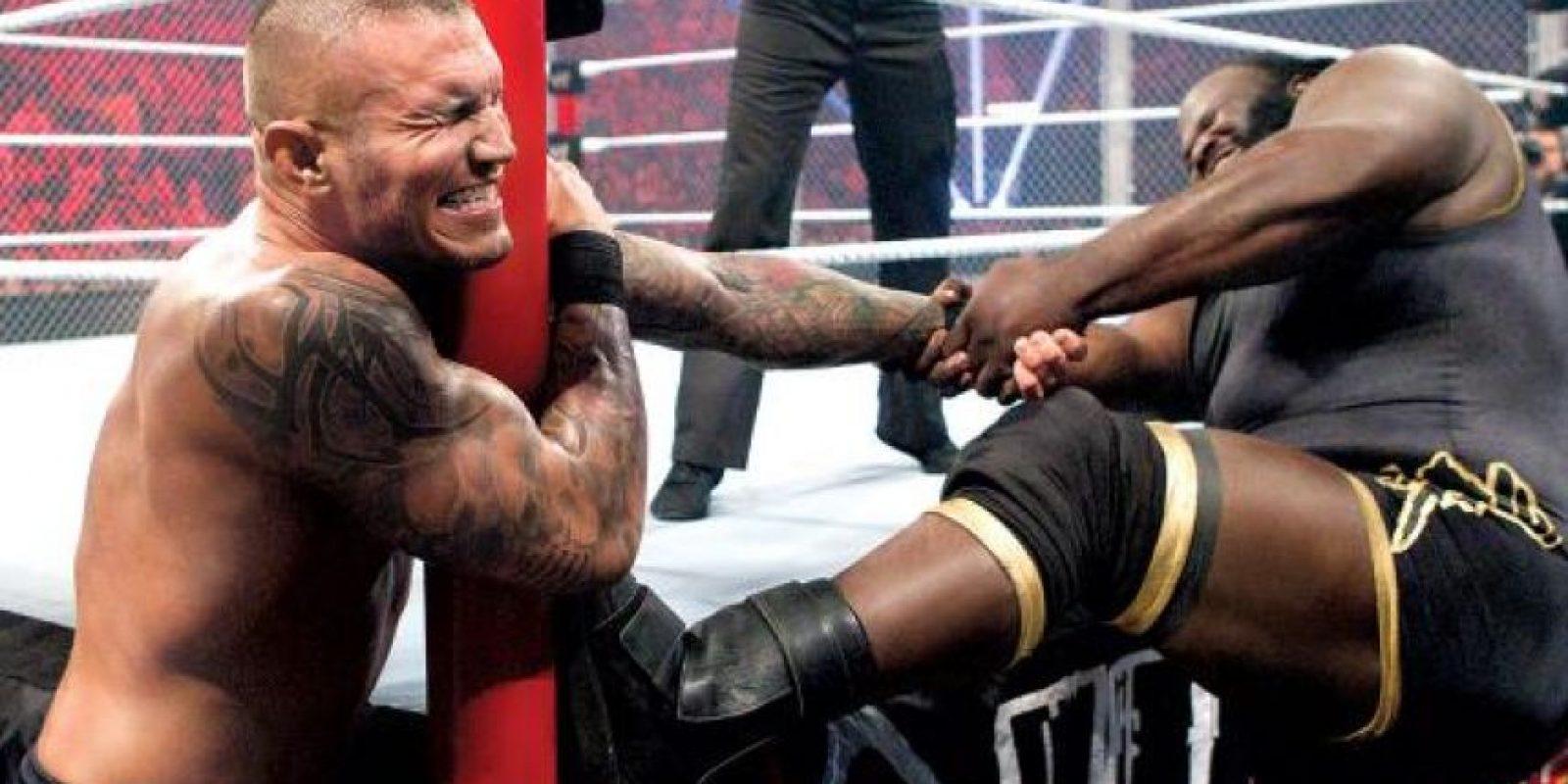 Randy Orton vs. Mark Henry Foto:WWE