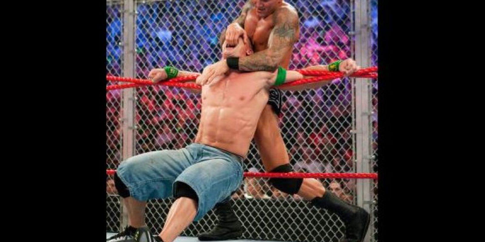 John Cena y Randy Orton Foto:WWE