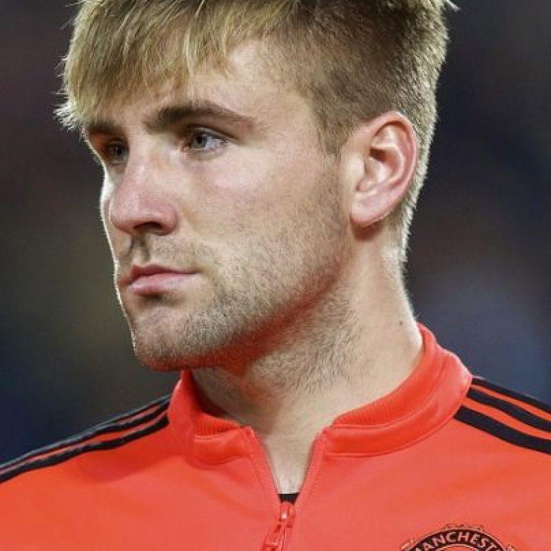 Luke Shaw es un futbolista inglés que juega como lateral izquierdo. Foto:Getty Images