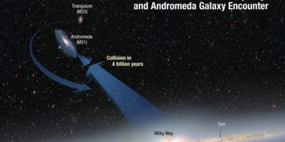 Se encuentra a 2.5 millones de años luz Foto:NASA