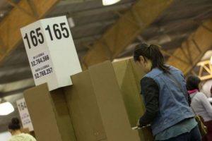 Parte positivo de las autoridades electorales durante las elecciones de autoridades locales Foto:Archivo Publimetro