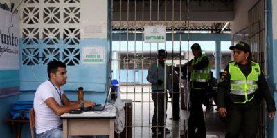 Parte positivo de las autoridades electorales durante las elecciones de autoridades locales Foto:EFE