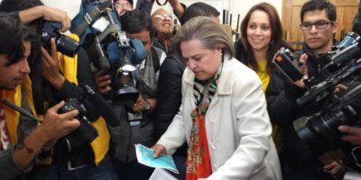 Foto:Cortesía campaña Clara López