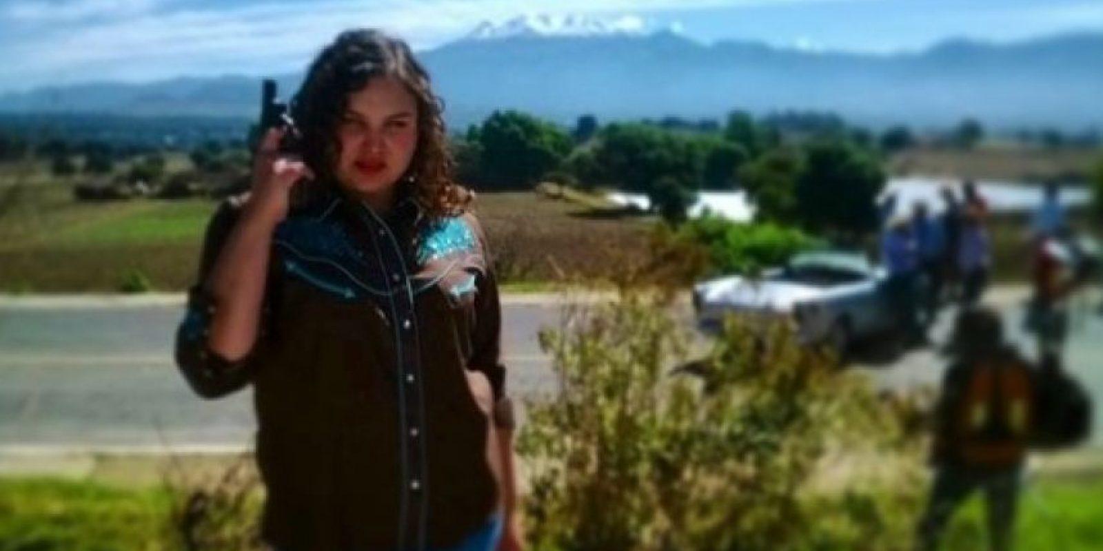 """En 2014 apareció en la telenovela """"Camelia la Texana"""". Foto:vía instagram.com/estefavillarreal_of"""