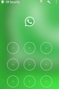 WhatsApp con CM Security. Foto:CM Security
