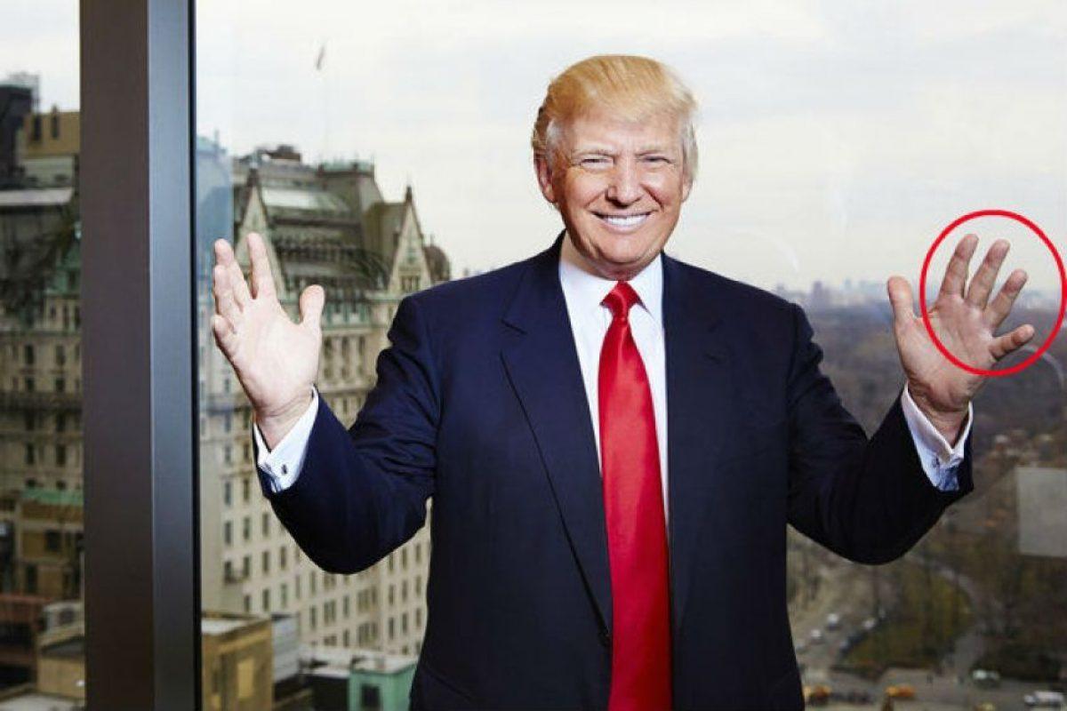 Desde hace tiempo le envía fotos al editor marcando sus manos. Foto:AP