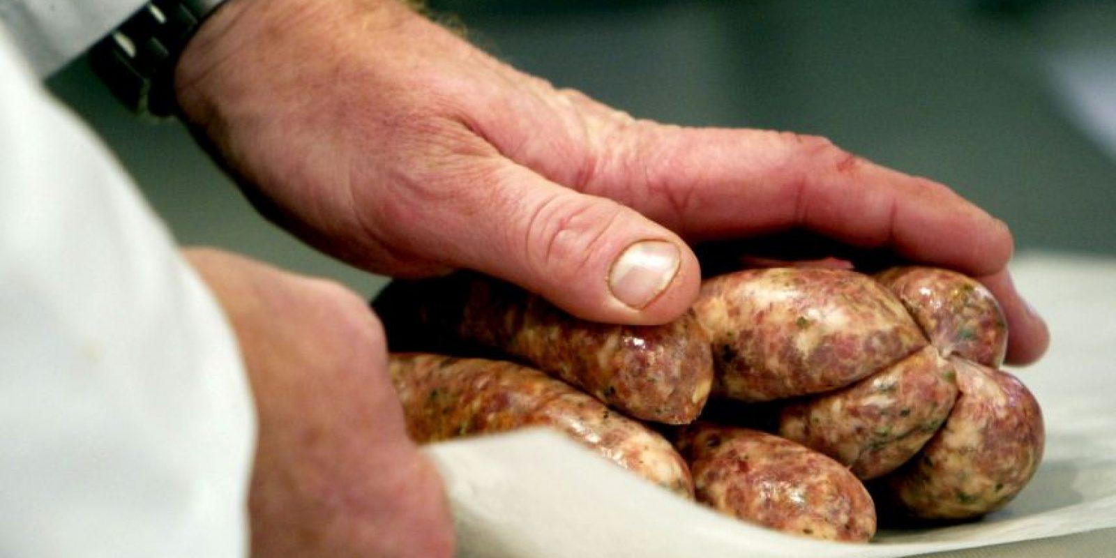 """7. Según la OMS, """"la mayoría de las carnes procesadas contienen carne de cerdo o de res, pero también pueden contener otras carnes rojas, aves, menudencias o subproductos cárnicos tales como la sangre"""". Foto:Getty Images"""
