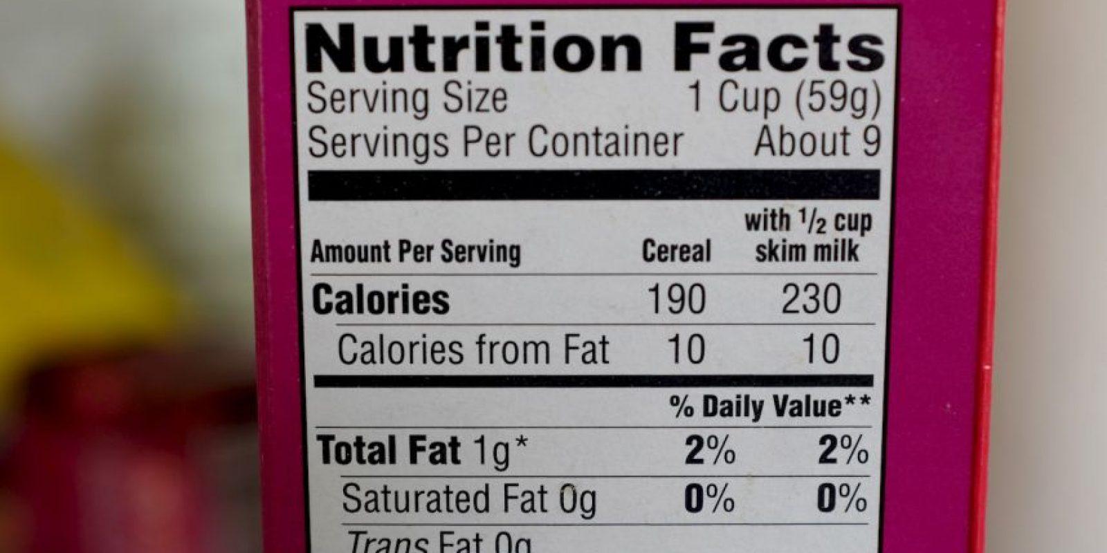 """Una revisión de más de 20 investigaciones del European Food Safety Authority encontró que el """"aspartame"""", utilizado como endulzante, puede causar cáncer. Foto:Getty Images"""