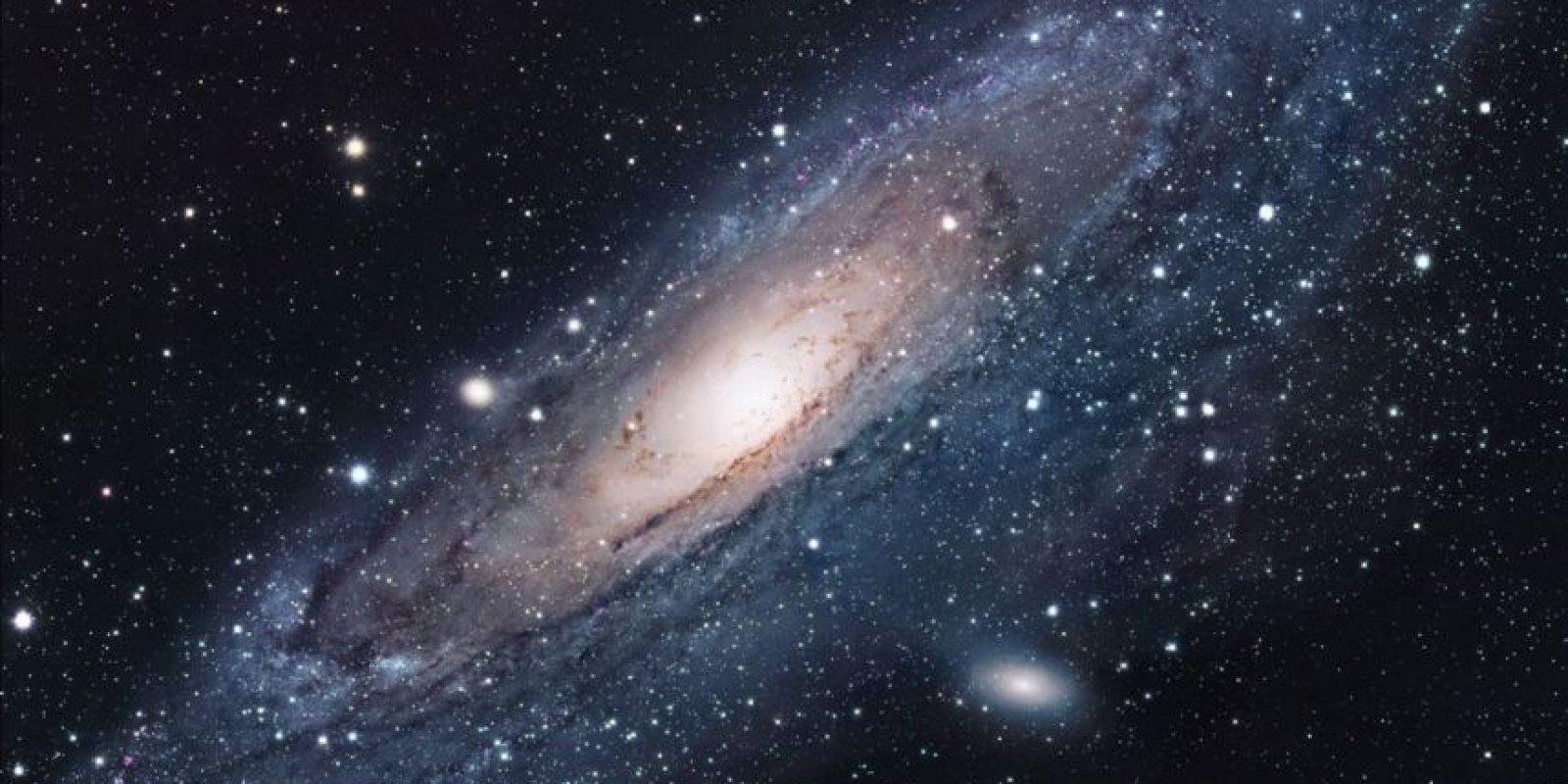 También se le conoce Galaxia Espiral M31, Messier 31 o NGC 224 Foto:NASA