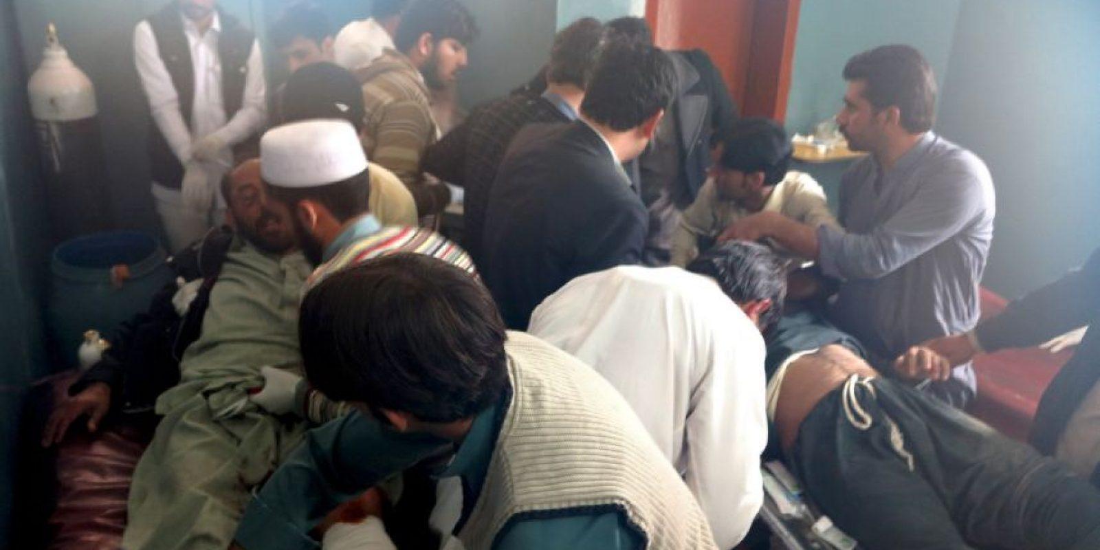 """""""Escuché sobre un fuerte temblor en la región de Afganistán – Pakistán"""" Foto:AP"""