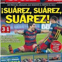 "Sport (España): ""Rossi tiró a Márquez. Escándalo Mundial"". Foto:sport.es"
