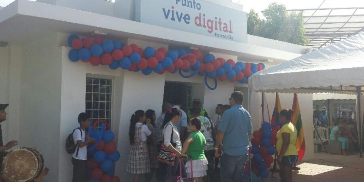 Así quedó el punto Vive Digital en Las Nieves
