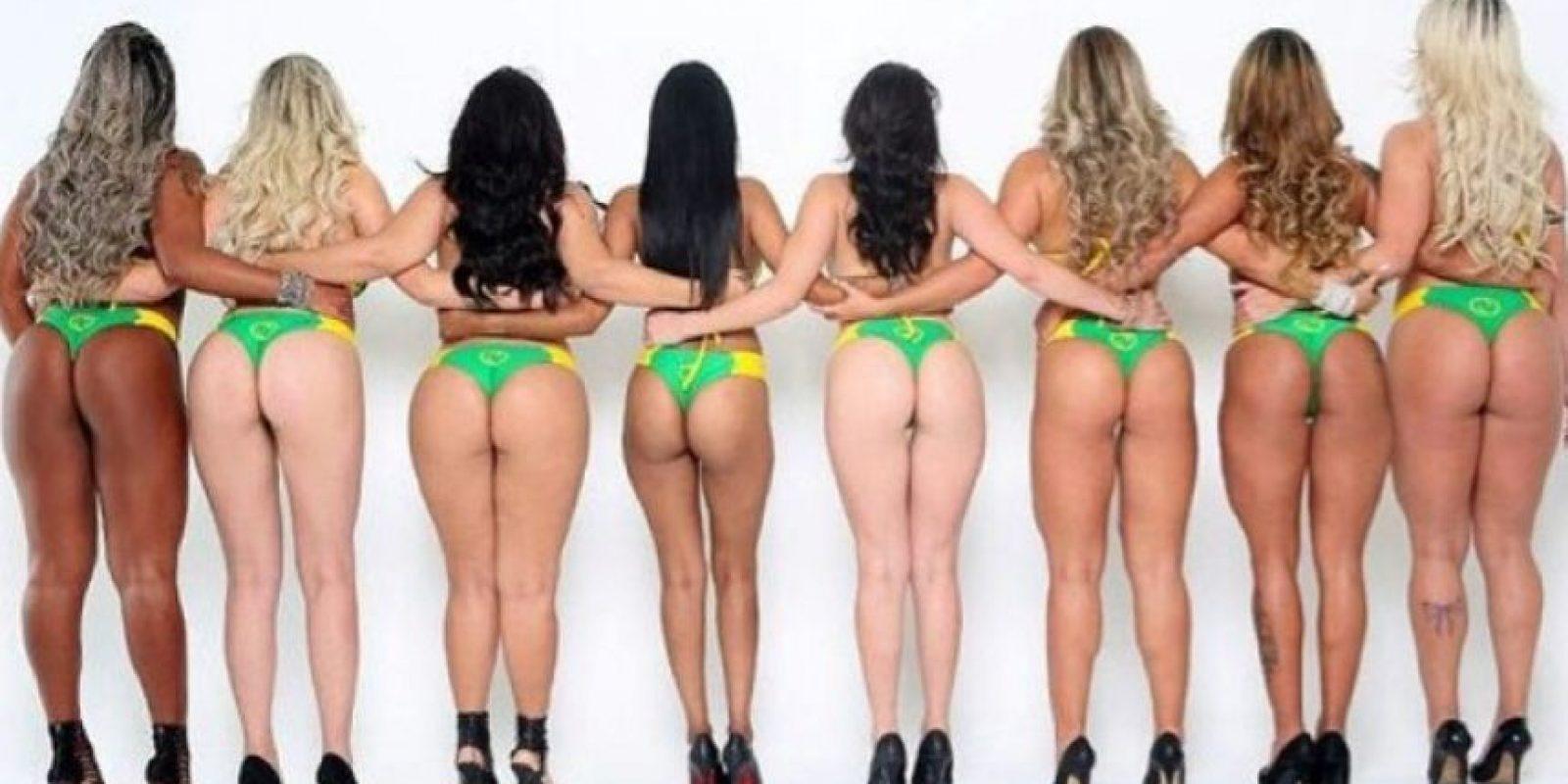 Las candidatas aparecen en diversas partes del país mostrando su físico. Foto:Instagram/deboradunhil