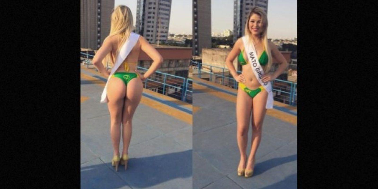 Fernanda Paulino representaba a Mato Grosso. Foto:Instagram/fernandapaulinooficial