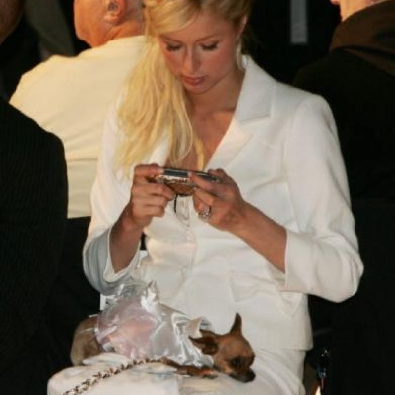 La socialité estadounidense Paris Hilton. Foto: Getty Images