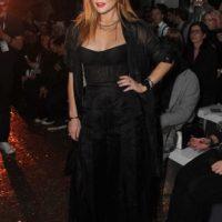 La cantante y actriz estadounidense Lindsay Lohan. Foto:Getty Images