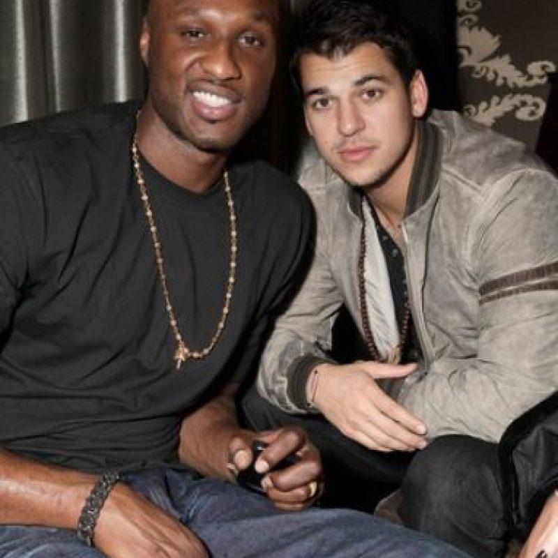 Lamar Odom y Rob Kardashian Foto:Instagram/khloekardashian