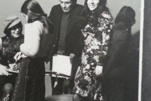 La 'Negra Candela' en los años 70. Foto:Instagram.com/Miss_balli