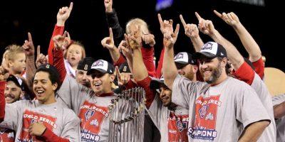 2011 – Cardenales de San Luis / Vencieron a los Rangers de Texas en siete juegos. Foto:Getty Images