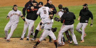 2012 – Gigantes de San Francisco / Vencieron a los Tigres de Detroit en cuatro juegos. Foto:Getty Images