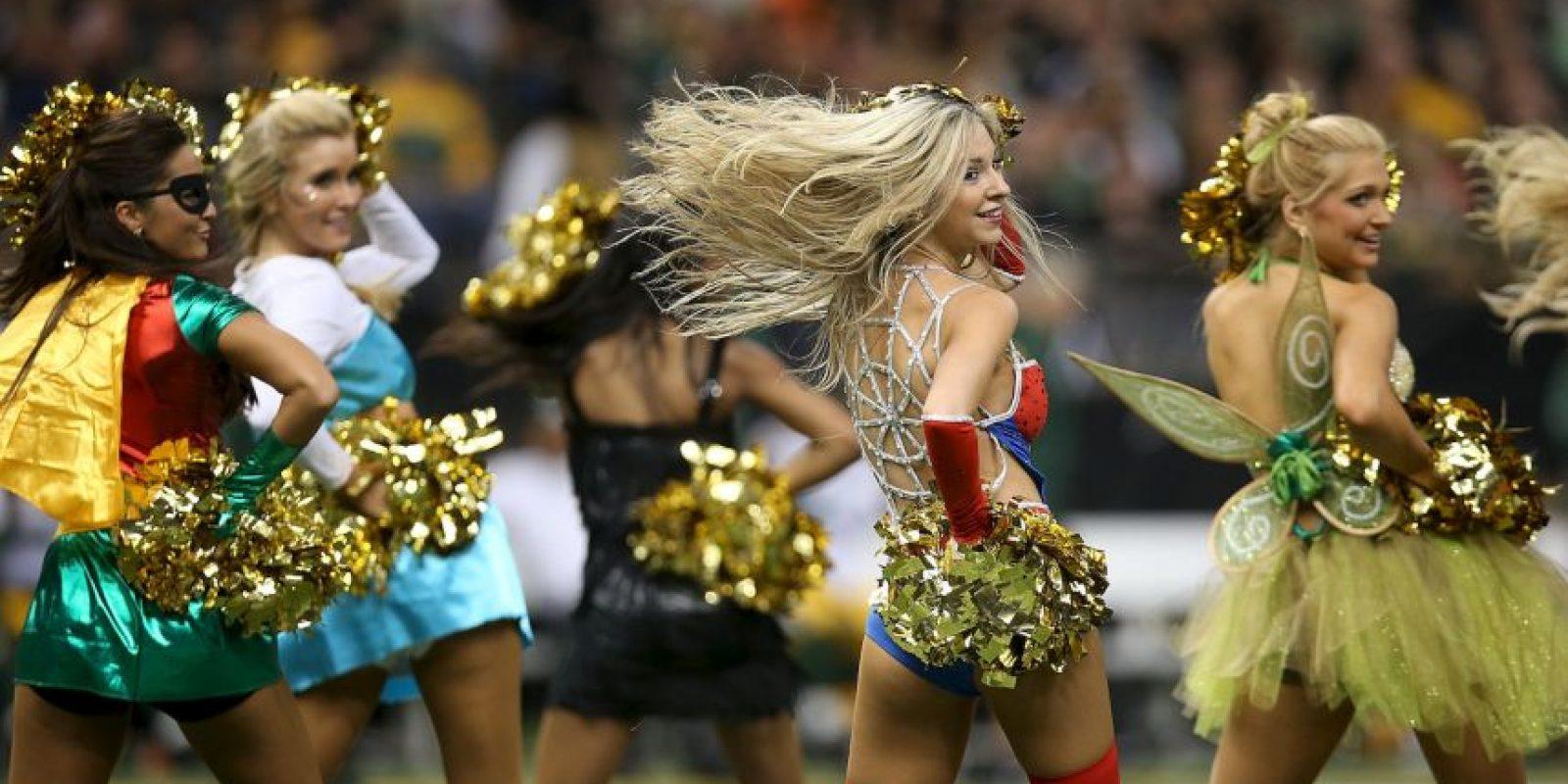 Y las de los Saints de Nueva Orleans. Foto:Getty Images