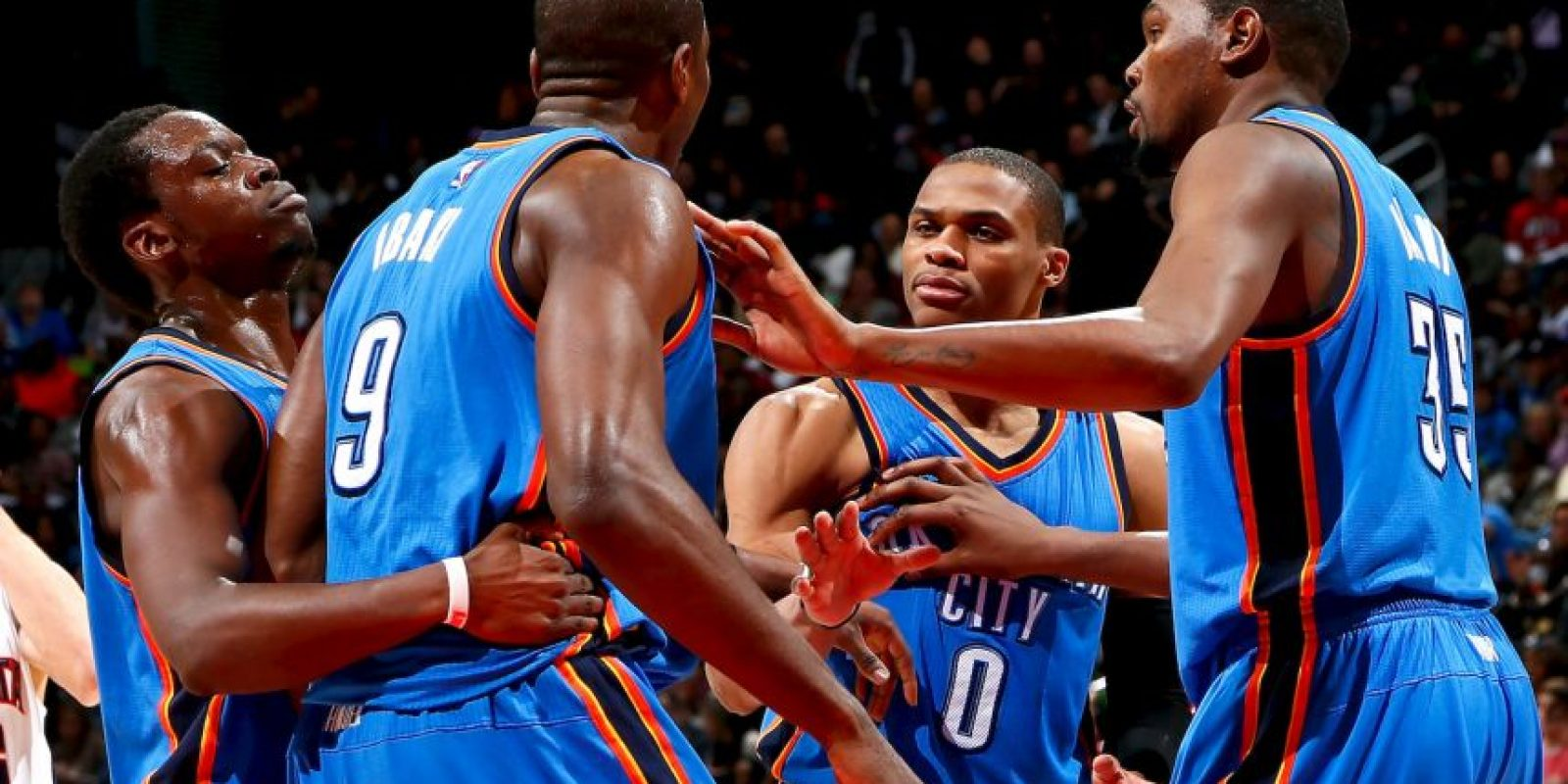 3. Oklahoma City Thunder, en busca del resurgimiento Foto: Getty images
