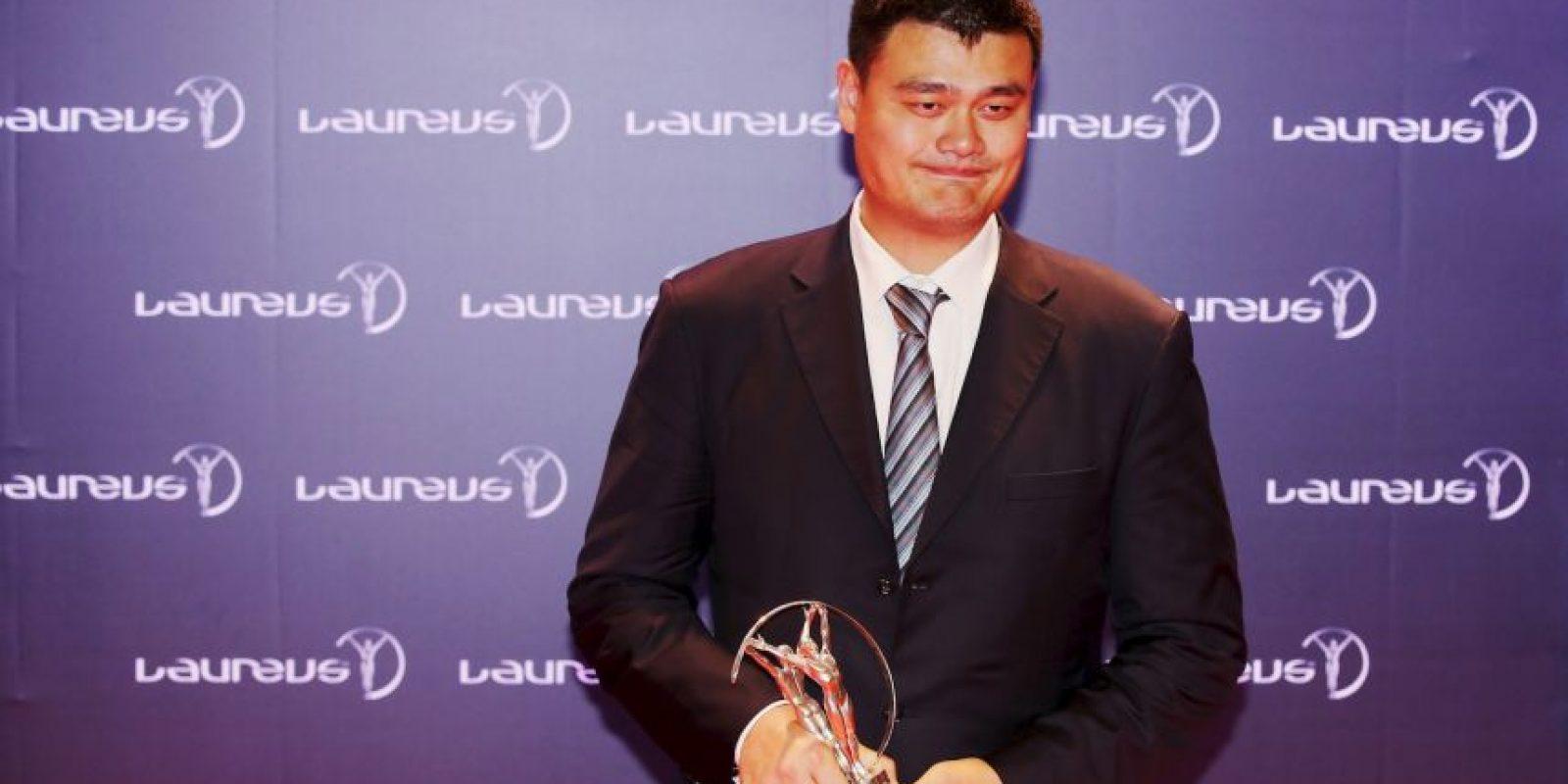 """""""Yo sólo soy solo uno de los mil 300 millones de chinos"""", Yao Ming Foto:Getty Images"""