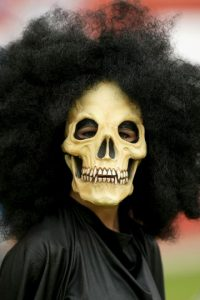 De vez en cuando causan terror con sus disfraces. Foto:Getty Images