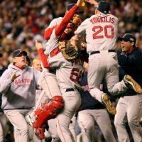 2007 – Red Sox de Boston / Vencieron a los Rockies de Colorado en cuatro juegos. Foto:Getty Images