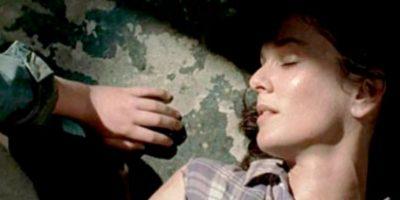 Murió cuando dio a luz a su hija menor Judith, Carl fue el encargado de disparar en su cabeza Foto:AMC