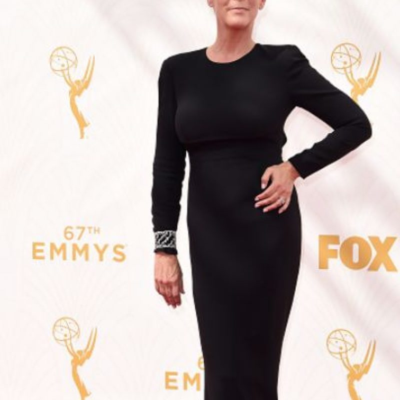 Así se vio a Jamie Lee Curtis en los Emmy. Foto:vía Getty Images