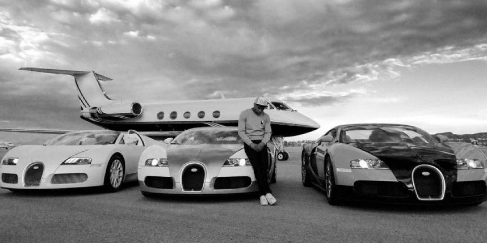 """En sus redes sociales, """"Money"""" comparte sus momentos de diversión con sus millones de seguidores. Foto:Vía instagram.com/FloydMayweather"""