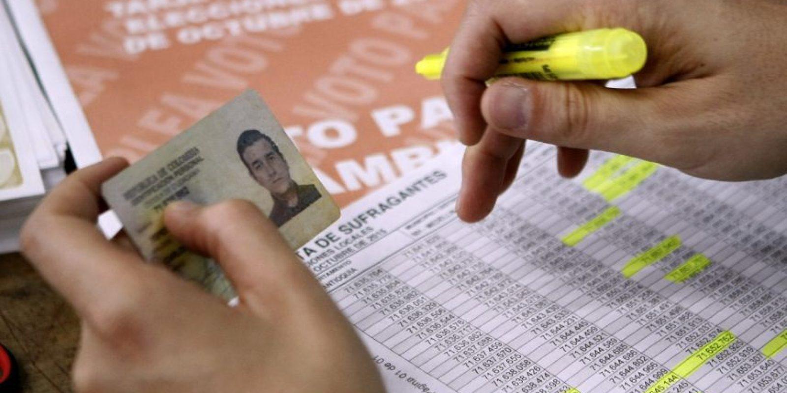 Hasta el 25 de noviembre se puede pedir el medio día por haber votado Foto:Publimetro