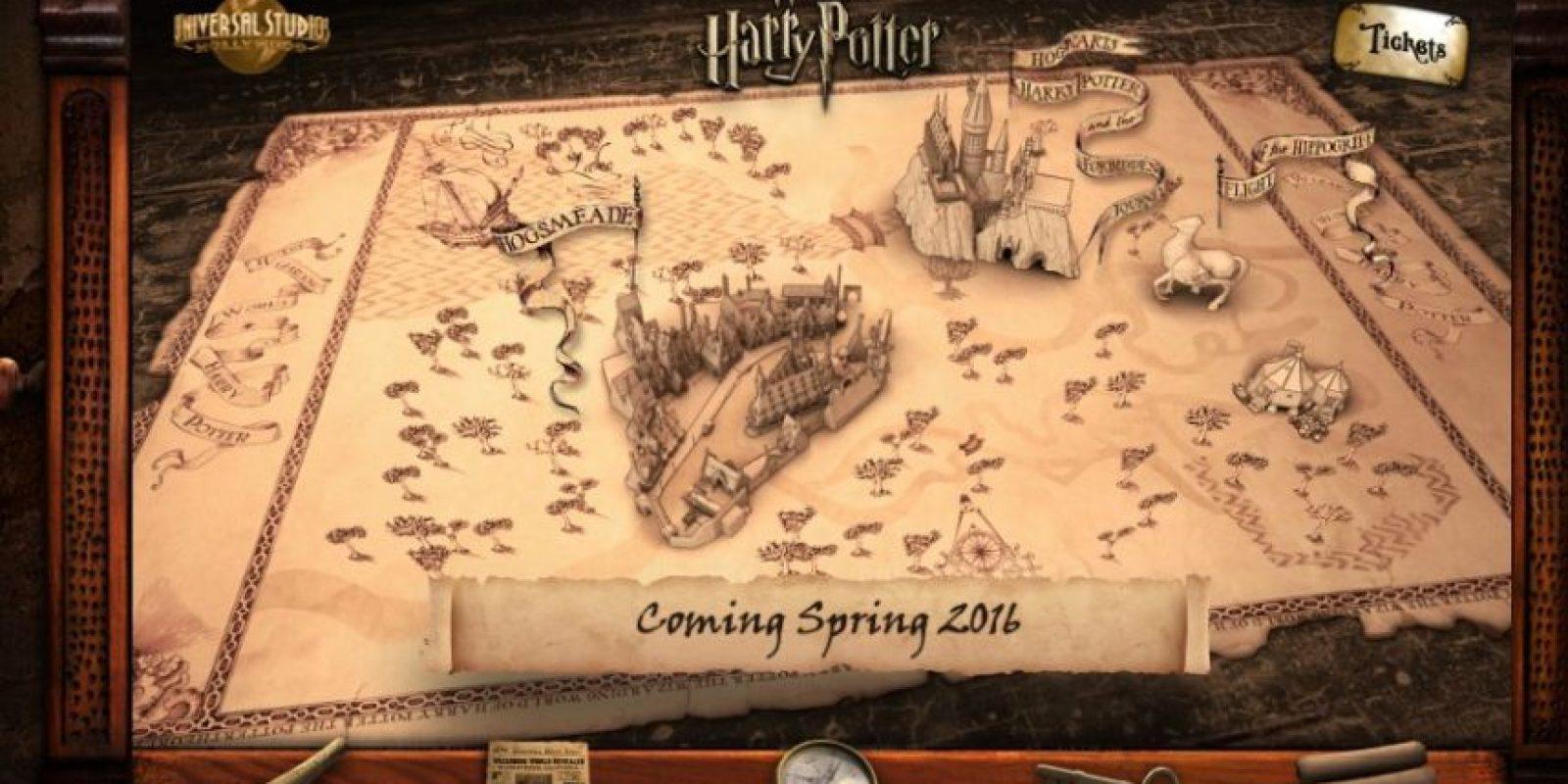 """Por esta razón, Universal Studios quiere brindarle a los fans del niño mago la oportunidad de conocer antes que nadie el nuevo parque temático de """"Harry Potter"""" Foto:www.wizardingworldhollywood.com"""