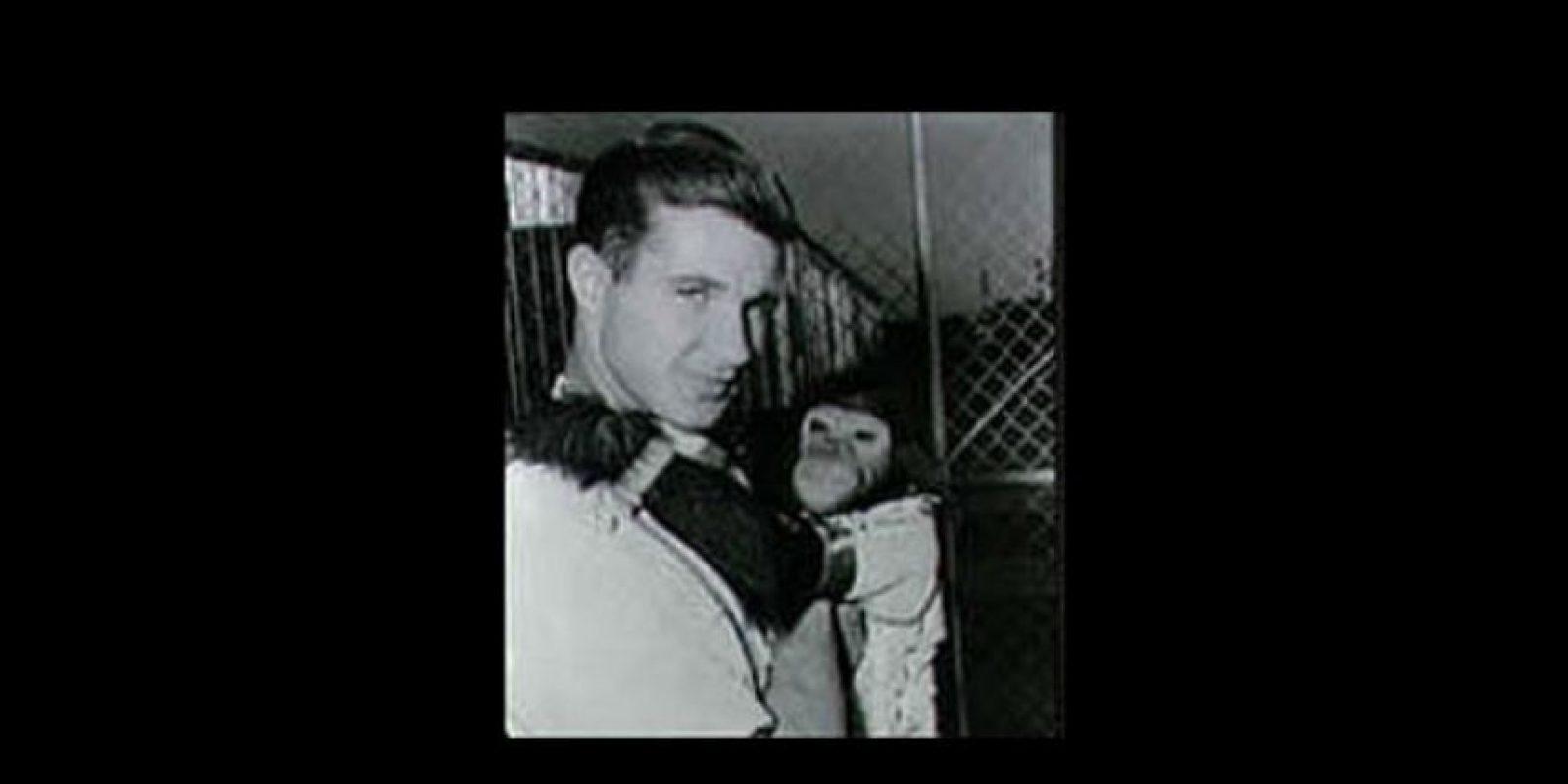 El primer mono en viajar al espacio fue Albert I en junio de 1948 Foto:Vía nasa.gov