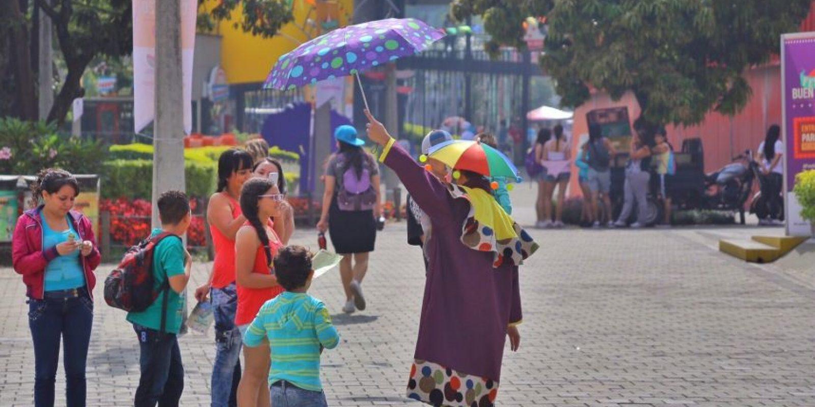 Festival Buen Comienzo El Circo. Foto:Cortesía Alcaldía de Medellín