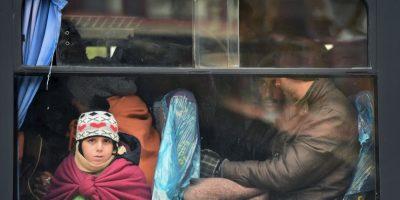 6. Además de la ruta del Mediterráneo, algunos refugiados han optado por la ruta del Ártico. Foto:Getty Images