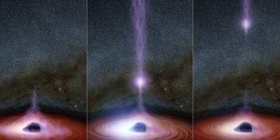 Sin embargo, esta vez investigadores de la NASA captaron el momento hubo una erupción de rayos X desde la corona del agujero. Foto:Vía nasa.gov
