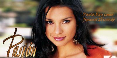 """Paola Rey era """"Jimena Elizondo"""". Foto:vía Caracol Televisión/Telemundo"""