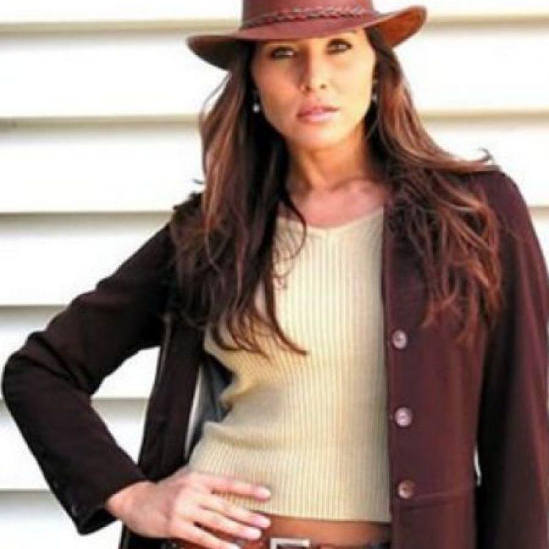 """Lorena Meritano era """"Dínora Rosales"""", enamorada de """"Juan"""" y la otra villana de la telenovela. Foto:vía Caracol Televisión/Telemundo"""